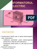 Transformatorul Electric