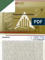 Ackruti - Corporate Presentation