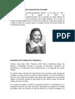 Biografia de Charles Augustin de Coulom1