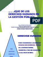 Enfoque de Derechos Humanos en La Gestión Pública Grover Castro Arias 1