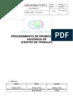 Ejemplo de Procedimiento de Promoción y Ascenso