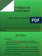 Sistema de Ecuaciones 0
