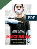 Sanchez Andraka Juan Un Mexicano Mas
