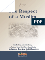 The Respect of a Muslim