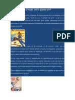 Milicianas Guerra Civil Española