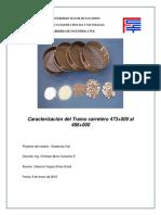 Clasificacion de Suelos mediante metodo AASHTO y  Sistema Unificado (USCS)