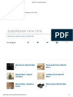 1914-1918 - Collections Europeana