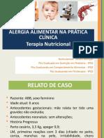 Curso Alergia Alimentar Infantil SÃO PAULO 21 05 2016