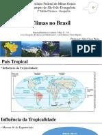 Climas No Brasil