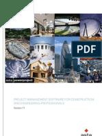 Asta Power Project Version 11 Brochure