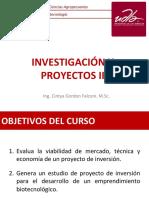 2. Introducción Proyectos de Inversión