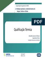 Qualificação Térmica e Armazenamento de Hemocomponentes