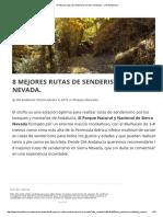 8 Mejores Rutas de Senderismo en Sierra Nevada