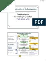 06a-Plan de Recursos y Capacidad (PMP, MRP)