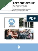 Adams 2018 Program Guide