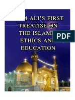 Imam Ali'S First Treatise on the Islamic Education and Ethics - Allama Ansariyan.pdf