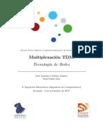 Multiplicación por TDM