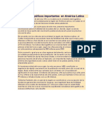 Factores Demográficos Importantes en América Latina