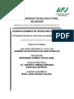 Optimización de Proceso (1)