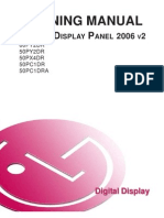 LG Plasma Display Panel Training Manual 2006 PDPTraining 2006 v2