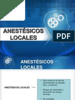 Anestesicos localess