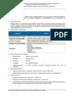 Ampliacion y Mejoramiento Del Sistema de Abastecimiento de Agua Municipio Warnes