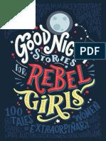 Good Night Stories for Rebel Girls 100 Ta - Elena