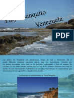 Carlos Michel Fumero - Playa Banquito, Venezuela