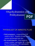 10. Rz- Sgh Ok Polyhydramnios and Oligohydramnios