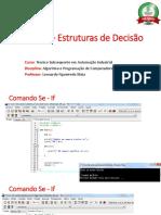 Aula 3 - Estruturas de Decisão.pptx