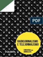 Radiojornalismo e Telejornalismo para concurso