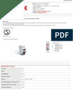 SDR22530 InterruptoresDiferenciais(DR)Referência30mA