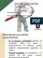 ANALISIS de LOS DATOS CUALITATIVOS