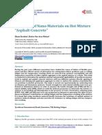 "The Effect of Nano-Materials on Hot Mixture ""Asphalt-Concrete"""