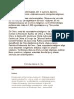 China Es Un País Multireligioso