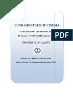 Fundamentals of Cinema