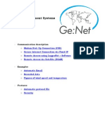 GeNet Measurement Systems