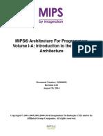 MIPS32 Vol I r6
