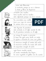 Fichas de Comprension Lectora Con Frases y Textos Primer Ciclo de Primaria-me