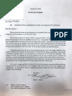 Ricky Barlow Resignation Letter