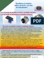 1.4 Încălzirea Și Răcirea Mașinilor Electrice, Servicii de Funcționare.