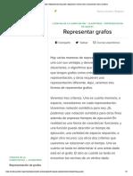 Representar grafos _ Representación de grafos _ Algoritmos _ Ciencias de la computación _ Khan Academy