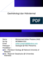 Kuliah Geofluida #1_Pendahuluan