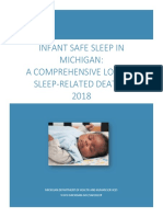 Michigan's Infant Safe Sleep Report