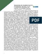 S B Coloproctologia - Artigo