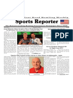 January 24 - 30, 2018  Sports Reporter