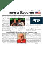 January 24 - 30, 2018  Sports Reporter