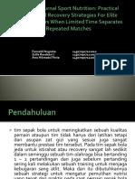 Resume Journal Sport Nutrition