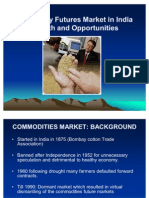 Commodity Futures Market in India[1]