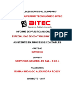 Roman Hidalgo Alexandra Rossy - Informe de Practicas